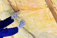 photo of insulation installation